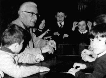 Edgar Willems med otroki